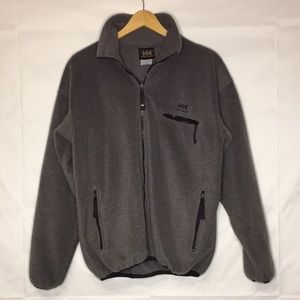 Helly Hanson Men's fleece zip sweater jacket S